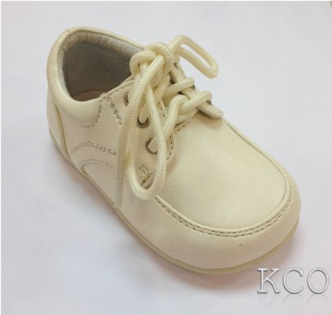 Style 171-04 Ivory~Boys Shoes